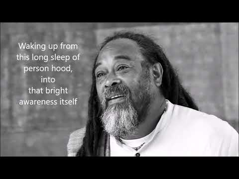 Mooji Quotes: Waking Up From the Long Sleep of Personhood