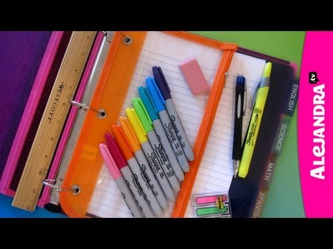 Organization - Watch My Private Organizing Videos Here - http://www.howtoorganize.tv/7-day-get-organized-video-course-yt/# Where To Get These Binders - http://www.alejandra...