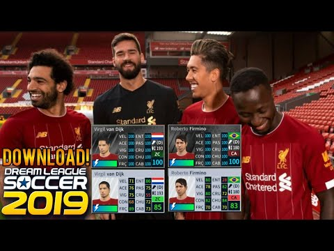 OFICIAL! TIME DO LIVERPOOL PARA O DLS 2019 V.6.12 COMPLETO E ATUALIZADO KITS 19/20 [DOWNLOAD]