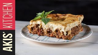 Beef cannelloni with béchamel sauce | Akis Kitchen by Akis Kitchen