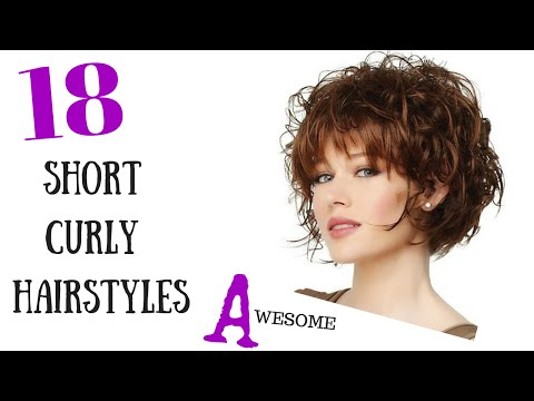 18 Awesome Short Curly Hair Styles 2015