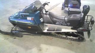 7. 1997 Ski Doo Touring LE 440 LOT 1096A