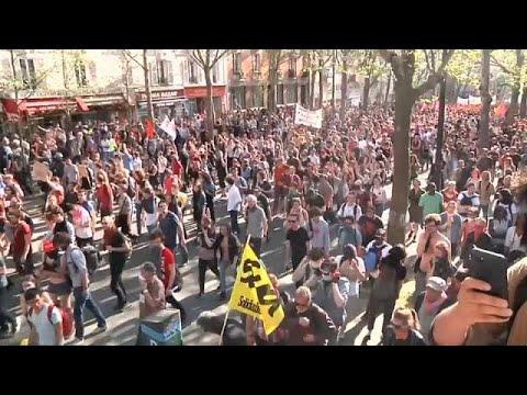 العرب اليوم - إخلاء مبنى جامعي سيطر عليه طلبة في باريس