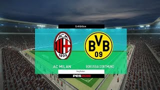 Ac Milan vs Borussia Dortmund International Champions Cup 2017 Gameplay Simulated #PES2017 #ICC2017Subscribe : https://goo.gl/hOkuyhTwitter : https://twitter.com/LionelPesG+ : https://goo.gl/Bz7FAmPatch : SS Patch Scoreboard : PES 2018 by aziz17 https://goo.gl/d9qAGGAdboard : PES 2018 by Abid Nabawi https://goo.gl/okOQzOKits : Kits Pack 2017/18 HD V3 by Geo_Craig90  https://goo.gl/QUEd8vPES 2017 Fantasy Gameplay/Penalty Shootout : https://goo.gl/gPYg18PES 2017 All Star Gameplay/Penalty Shootout : https://goo.gl/PKXzD8