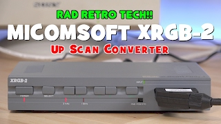 Welcome to the first video in the Rad Retro Tech series. In this series I hope to cover less common, yet interesting older hardware for retro video game and computer enthusiasts. In my earlier videos, especially any with the Commodore 64 or Amiga, I use to receive comments all the time asking how I was displaying them on a regular Sony Trinitron Computer monitor. Today we are going to look at a RAD piece of retro tech: The XRGB-2 Up Scan Converter.Follow me on Twitter @ToddsNerdCaveAlso you can now follow me on Facebook @ToddsNerdCaveMusic:ZigZag Kevin MacLeod (incompetech.com)Licensed under Creative Commons: By Attribution 3.0 Licensehttp://creativecommons.org/licenses/by/3.0/