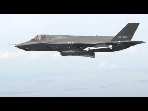 F-35 Drops Its First Bomb Ever
