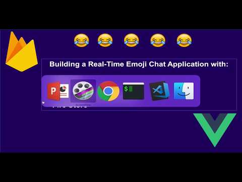An authenticated real-time emoji chat application with Firbase, Firestore and Vue.js from scratch