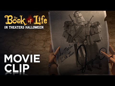 The Book of Life (Clip 'Joaquin Is Awesome')