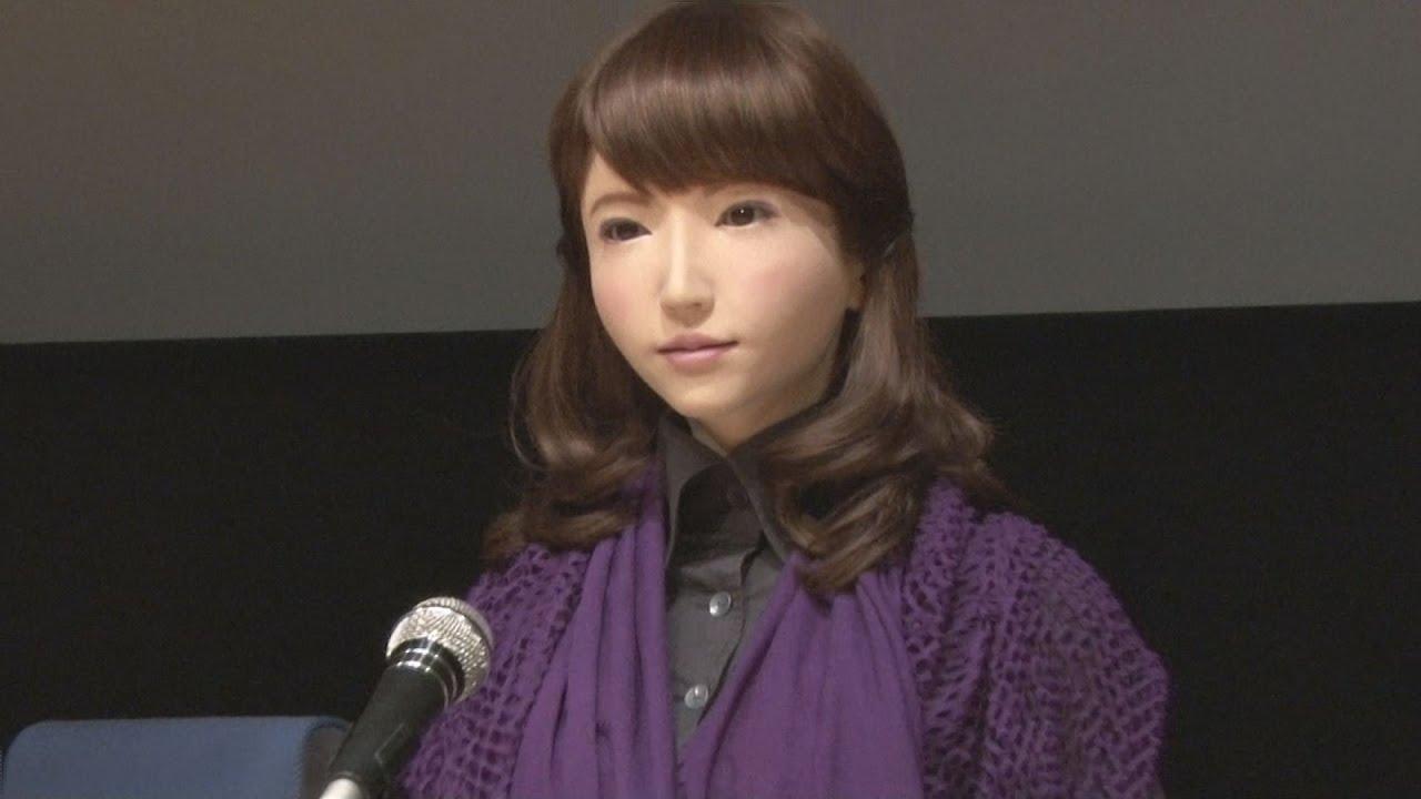 Erica หุ่นยนตร์สาวญี่ปุ่น