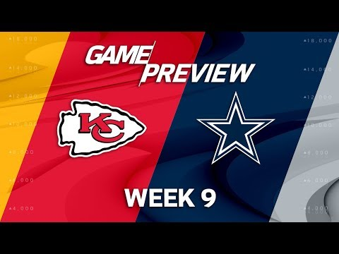 Video: Kansas City Chiefs vs. Dallas Cowboys | NFL Week 9 Game Preview | Move the Sticks