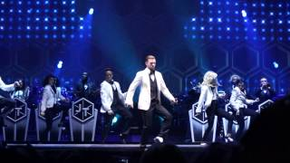 Justin Timberlake Rock Your Body 20/20 Experience Live 1/20/14 1080p