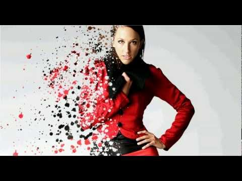 Photoshop Splatter / dispersion photomanipulation Tutorial