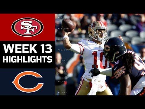 Video: 49ers vs. Bears   NFL Week 13 Game Highlights