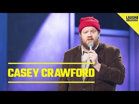 Comic Casey Crawford Shares Random Brand Of Humor - Thời lượng: 7 phút, 20 giây.