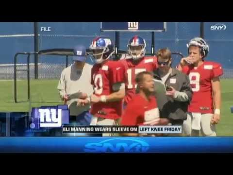 Video: Giants Report: Eli's Knee and Team Meeting