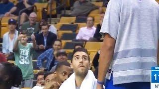 Savage Fan TROLLS Joakim Noah's Ugly Shot by Obsev Sports