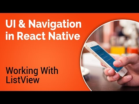 Learn about UI and Navigation in React Native - Part 4