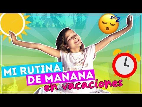 RUTINA DE MAÑANA EN VACACIONES | MORNING ROUTINE | Daniela Golubeva