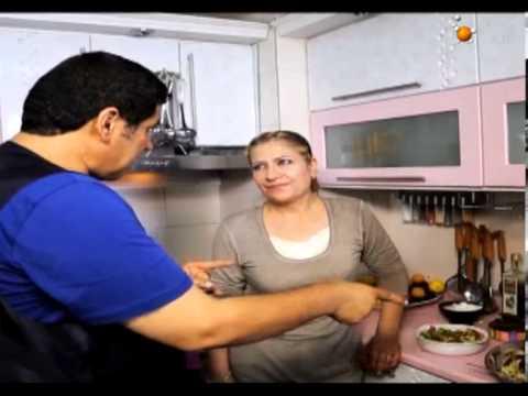 الطبخة والجيران - بغداد منطقة سعدون مع الضيفة اسيا كمال 3