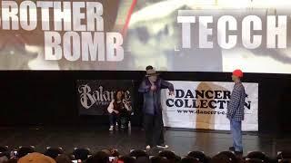 BROTHER BOMB vs Tecchy – D-PRIDE vol.5 BEST8
