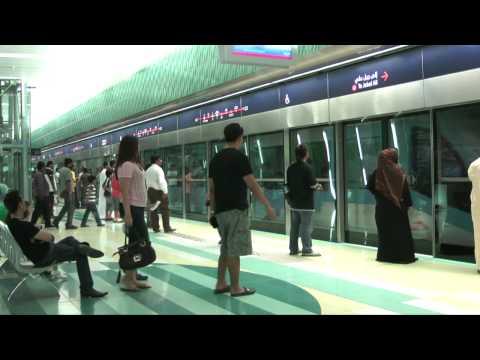 Dubai Metro in HD