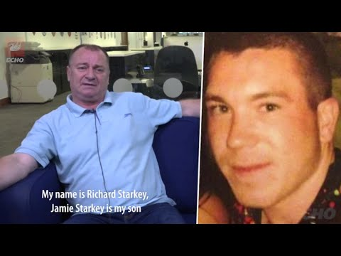 Dad's Plea To Find Killer Who Shot His 21-year-old Son, Jamie Starkey Dead