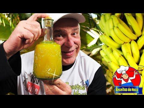 Licor de Banana Prata