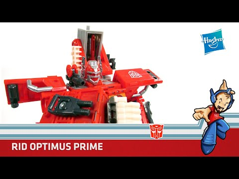 Transformers Optimus Prime / Fire Convoy RID Review en Español