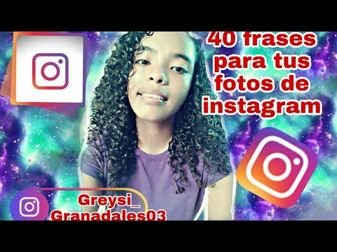 Frases para fotos - 40 frases para tus fotos de instagram!!!!