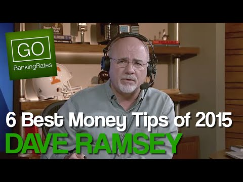 Dave Ramsey's Best Money Advice for 2015