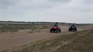 6. 2016 arctic cat 500 vs 2017 honda rancher 420