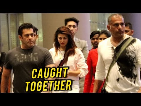 Salman Khan Jacqueline Fernandez TOGETHER at Mumba