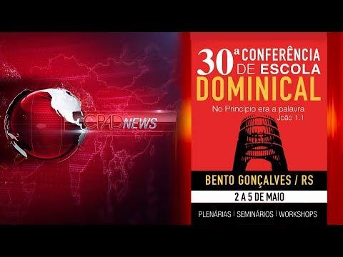 Boletim Semanal de Notícias CPAD News 123