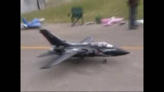 RC Tornado W/Tiger Stripes - RC JET Turbine Power