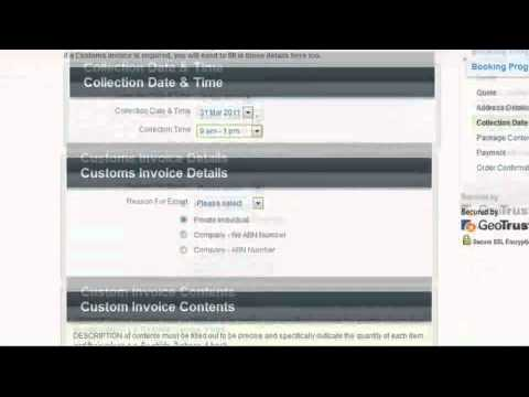 Baggage Freight Booking Tutorial