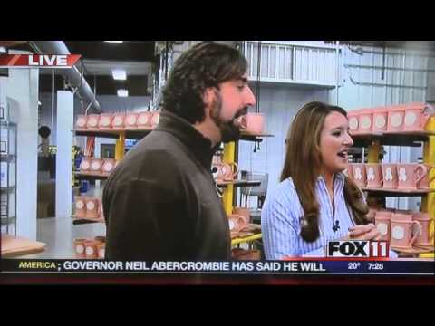 wluk - Watch the complete interaction from Tuesday, November 12, 2013, highlighting Emily Deen, reporter for Fox 11 WLUK, who visited Sunset Hill Stoneware to get a...