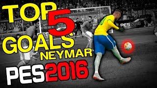 PES 2015/6 - TOP 5 GOALS NEYMAR! =D, neymar, neymar Barcelona,  Barcelona, chung ket cup c1, Barcelona juventus