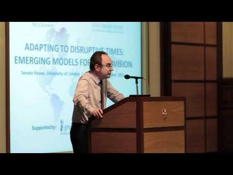 Emergent HE Strategien zur Anpassung: Prof. Geoffrey Crossick