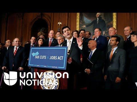Republicanos del Congreso llegan a acuerdo para aprobar reforma fiscal antes de que termine el año