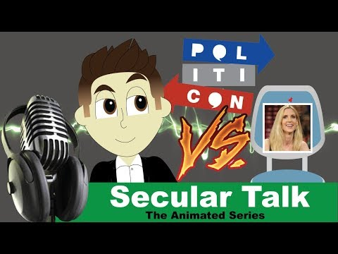 Ann Coulter and the Case of the Missing Politicon Debate - Secular Talk The Animated Series: Ep 6