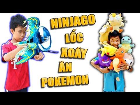 Tony | Trò Chơi Ninja Săn Thú Nhồi Bông - Ninjago Get Pokemon - Thời lượng: 12 phút.