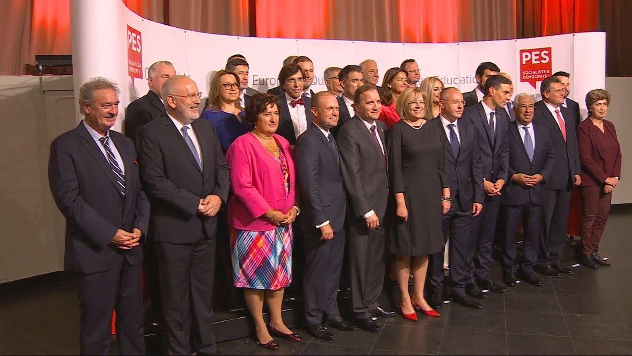Συνάντηση των Ευρωπαίων σοσιαλιστών  ηγετών πριν από το Ευρωπαϊκό Συμβούλιο