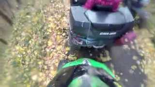 8. Collision with Can-am outlander 800 max xt-p