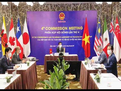 Chính thức khởi động quá trình đàm phán để Vương quốc Anh gia nhập CPTPP