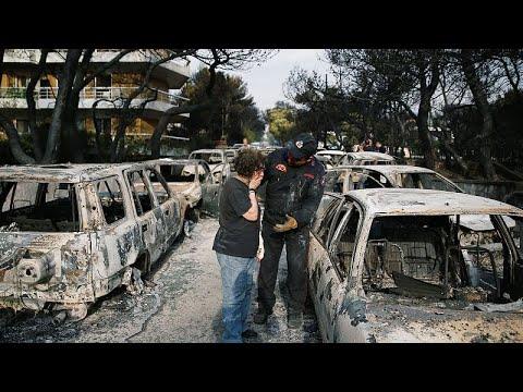 Εθνική τραγωδία: Εικόνες αποκάλυψης-Δεκάδες νεκροί