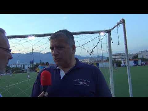 """Ξεχωριστό τουρνουά ποδοσφαίρου από τον Όμιλο UNESCO Β. Π. 3-6-2018 - ΓΙΩΡΓΟΣ ΠΑΤΟΥΛΗΣ ΔΗΛΩΣΗ ΣΤΗ """"Θ"""""""
