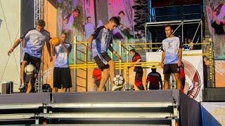 Микс шоу Live (9 чел. – футбольный, баскетбольный, футбэг фристайл, брейк данс, трикинг)