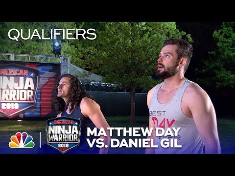 Power Tower: Matthew Day Vs. Daniel Gil - American Ninja Warrior Oklahoma City Qualifiers 2019
