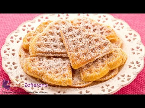 waffels - Sonia cooks for us a sweet treat that is also a great idea for St. Valentine's Day: the waffles! Find this and many more recipes on the Giallozafferano App i...