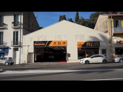 Inauguration du centre auto BestDrive à Cannes
